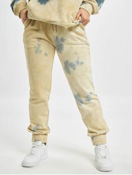 Sixth June Spodnie do joggingu Tie Dye bezowy