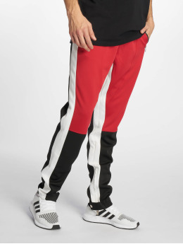 Sixth June Spodnie do joggingu Color Block Tracksuit czerwony
