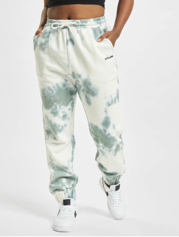 Sixth June Spodnie do joggingu Tie Dye zielony