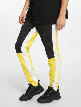 Sixth June Spodnie do joggingu Color Block zólty