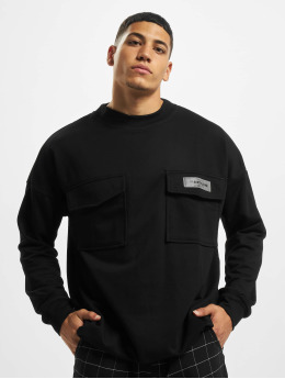 Sixth June Sweat & Pull High Neck Cargo noir