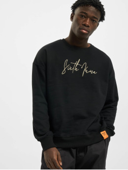 Sixth June Sweat & Pull Front Signature noir