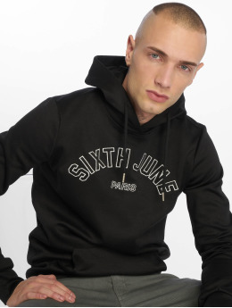 Sixth June Sweat capuche College noir