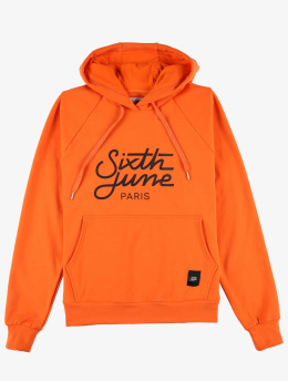 Sixth June Sweat capuche Classic Oversize orange