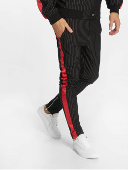 Sixth June Sweat Pant Stripes Baseball black