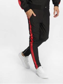 Sixth June Sweat Pant Stripes Baseball black