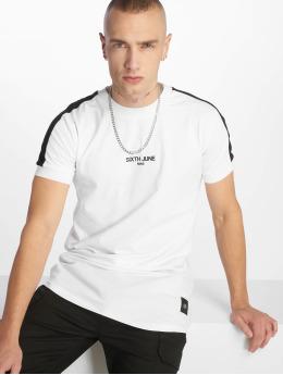 Sixth June T-Shirt Stripe blanc