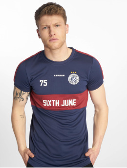 Sixth June T-Shirt Soccer bleu