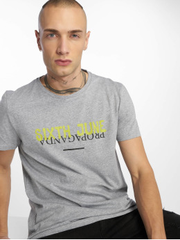 Sixth June T-shirt Wyoming Propaganda grå