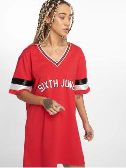 Sixth June T-shirt longoversize Basketball Tall rouge