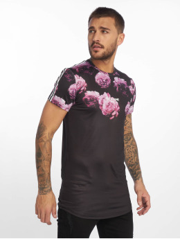 Sixth June T-shirt Flowers And Tie Dye rosa