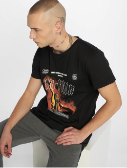 Sixth June T-Shirt Front And Back Print No Fear schwarz