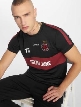 Sixth June T-Shirt Soccer schwarz