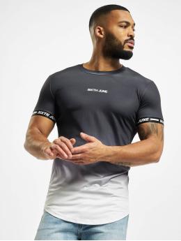 Sixth June T-Shirt Sport Tie Dye schwarz