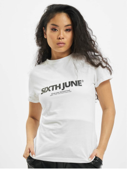 Sixth June T-Shirt Basic Logo white