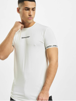 Sixth June T-shirts Signature Sport hvid