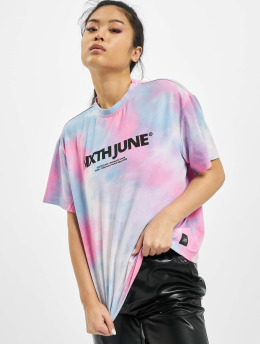 Sixth June T-skjorter Tie Dye lyserosa