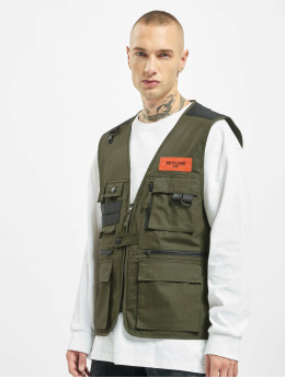 Sixth June Vest Fishing  khaki