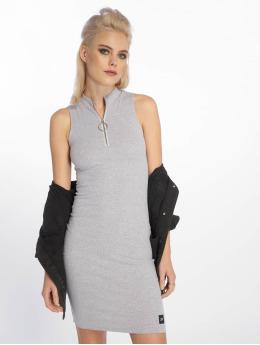 Sixth June Vestido Zip Ripped  gris
