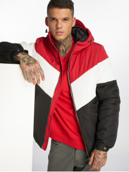 Sixth June Winter Jacket 3 Tone red