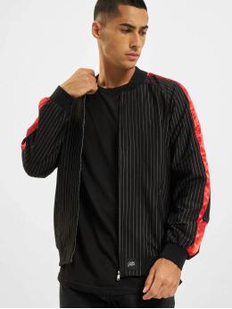 Sixth June Stripes Baseball Jacket Black