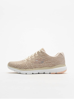 Skechers sneaker Flex Appeal 3.0 Satellites beige