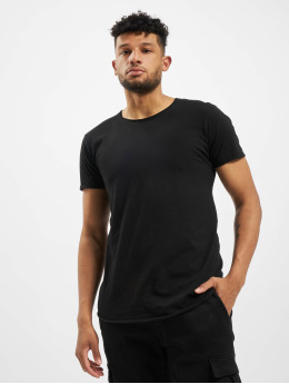 Sky Rebel Camiseta Athan  negro