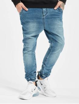 Sky Rebel Jogging kalhoty Slim Fit modrý
