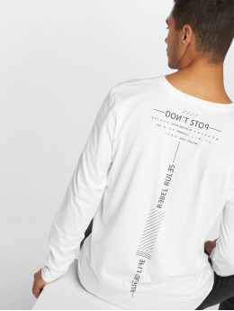 Sky Rebel Pitkähihaiset paidat Don't Stop valkoinen
