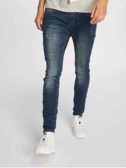 Sky Rebel Skinny Jeans Stone Washed niebieski