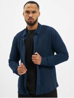 Sky Rebel Skjorta Fudo blå