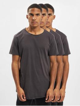 Sky Rebel T-Shirt Basic 3-Pack grey
