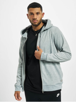 Sky Rebel Zip Hoodie Basic  grey