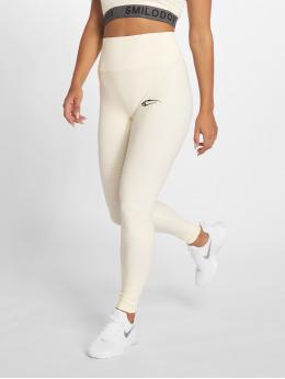 Smilodox Sport Tights Yura High Waist beige