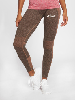 Smilodox Leggings de sport Seamless Autumn gris