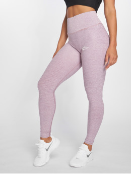 Smilodox Leggings deportivos Yura High Waist púrpura
