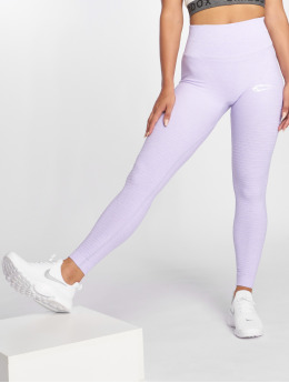 Smilodox Leggings/Treggings Yura High Waist fioletowy