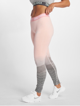 Smilodox Leggings/Treggings Seamless Recent rózowy