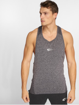 Smilodox Tank Tops Seamless Brave gray