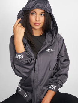 Smilodox Übergangsjacke You Training grau