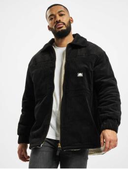 Southpole Демисезонная куртка Corduroy Sherpa черный