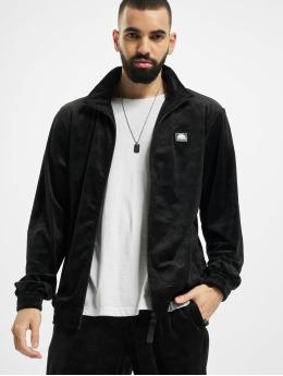 Southpole Демисезонная куртка Aop Velour черный