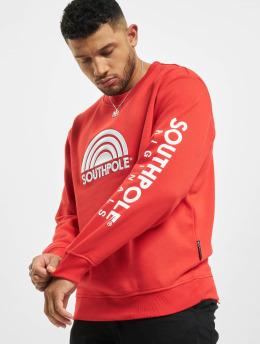 Southpole Пуловер 3D  красный