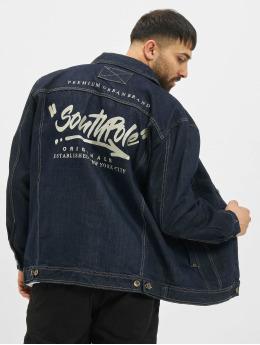Southpole джинсовая куртка Script  индиго