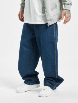 Southpole Baggy jeans Logo Branded blå