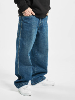 Southpole Baggy jeans Logo Branded  blauw