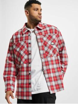 Southpole Camisa Checked Woven rojo