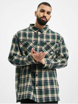 Southpole Camisa Check  verde