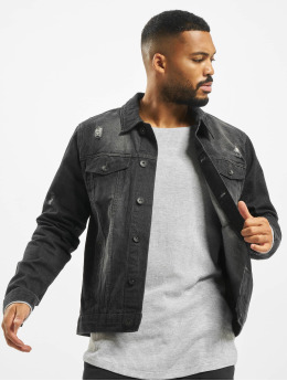 Southpole Denim Jacket Basic black