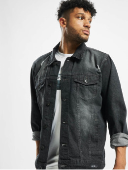 Southpole Denim Jacket Biker Trucker black